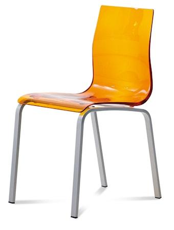 Domitalia Gel-r Köksstol - Orange