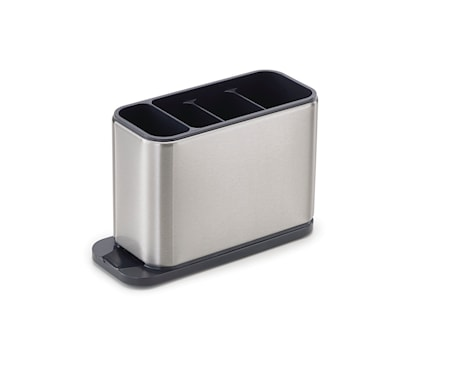 Surface stainless-steel cutlery drainer