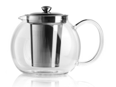 Teekannu Bialetti lasi 1 litraa