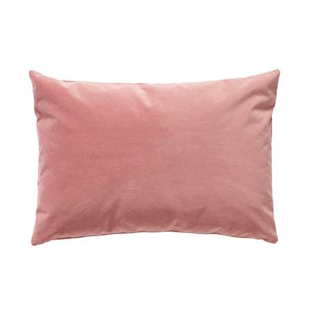 Kudde med fyllning Velour Rosa 60x40 cm