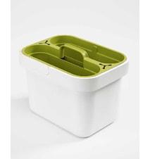 Clean&Store Förvaringsbox Vit/Grön