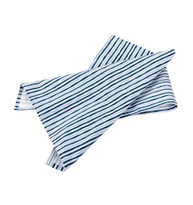 Handduk Randig 50x70cm blå/vit