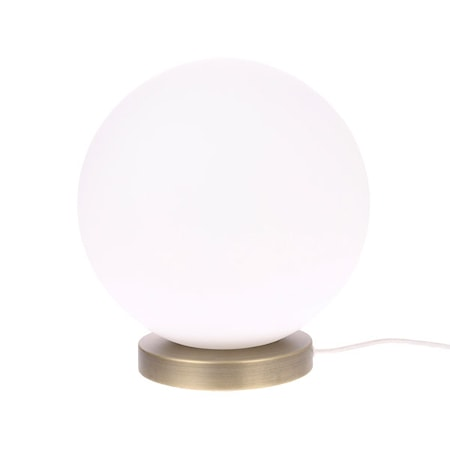 Glaslampa Boll Large Vit