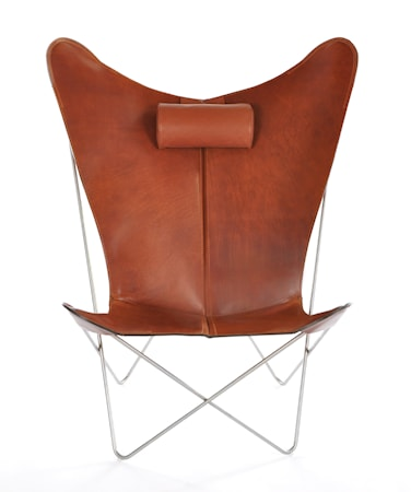 OX DENMARQ KS Chair Fladdermusfåtöljen - Cognac