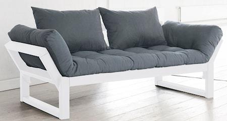 KARUP Edge soffa - vit/ljusgrå