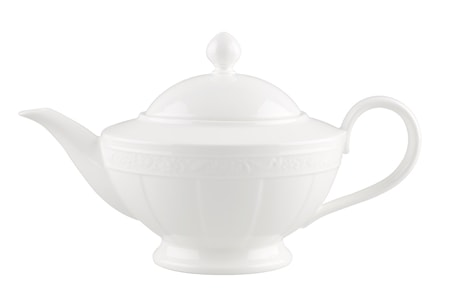 Villeroy & Boch White Pearl Tekanna 6 pers. 140l