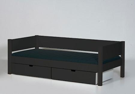 Manis-h Sif säng mörkgrå - 90x200