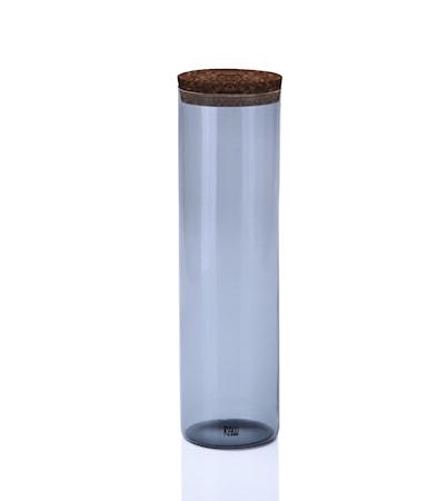 Aida Raw Förvaringsglas Stor Rökfärgad