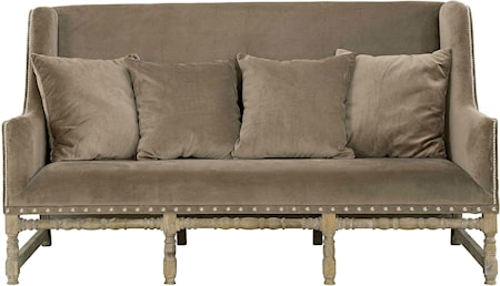 Artwood Mayfair Soffa Velvet Taupe