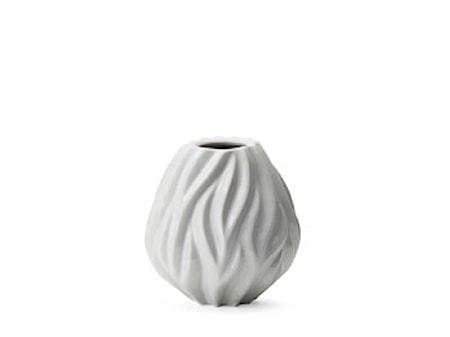 Vase Flame 15 cm hvid Morsø