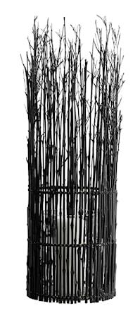 Fishtrap Large Lykta Bambu 65x20 cm - Svart