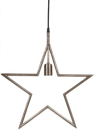 Tindra Hängande Stjärna Råsilver 45cm