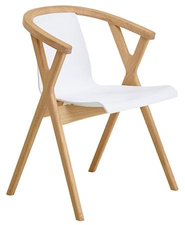 CASØ Furniture Mr X stol - Vit plast