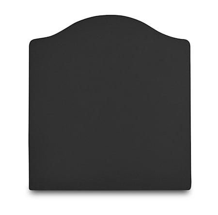 Mille Notti Carlita canvas sänggavel - Mörkgrå 105x140