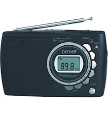Världsradio med klocka