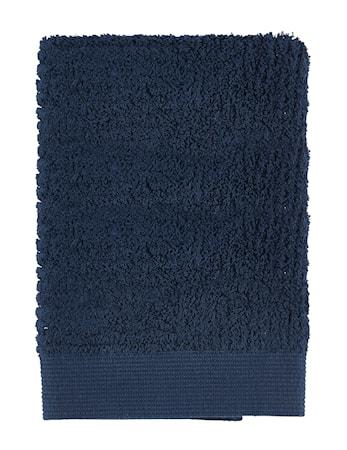 Zone Denmark Håndklæde - Dark Blue - Stk. - Classic - 100% bomuld - 600 g - L 70,0cm - B 50,0cm - Sleeve thumbnail