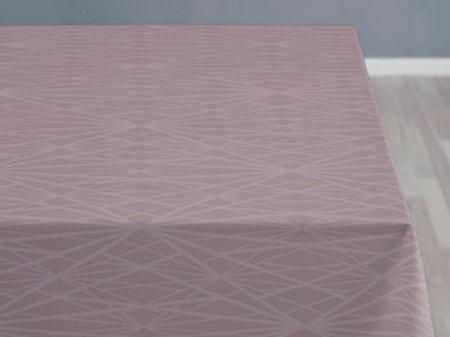 Södahl Pöytäliina 140x320 Diamond grid mauve
