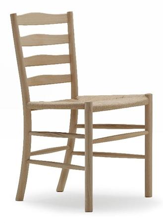 Dk3 Church stol ? Ek med läderdyna