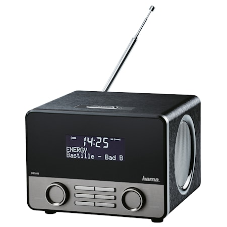 Hama DAB+ Radio BT Musta Hopea