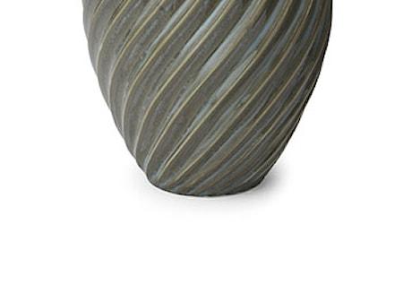 Vase River 21 cm gråblå Morsø