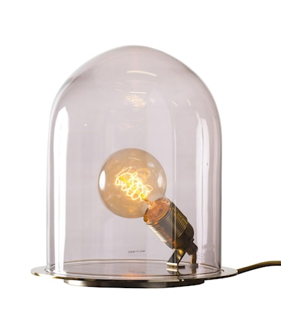 Bilde av Ebb & Flow Glow in a dome medium brass bordlampe