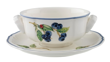Villeroy & Boch Cottage Soup Kopp & Fat 2pcs