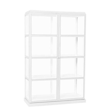 Hübsch Display Cabinet Vitrinskåp - Vit