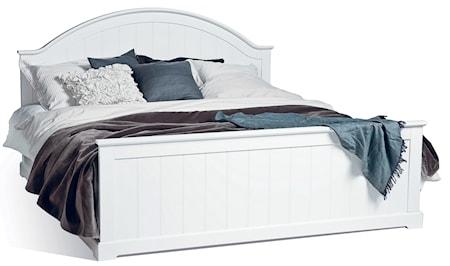 Mavis Smögen säng - vitlack, 180 x 200