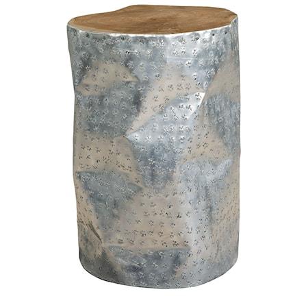Artwood JAKARTA ALU stool nat.teak/alu