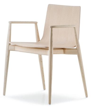Pedrali Malmö 395 stol - ask