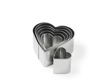 Udstikker sæt hjerte, gl 7 del