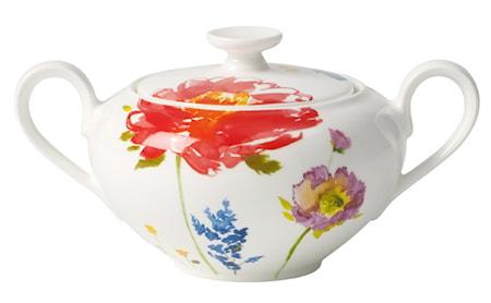 Villeroy & Boch Anmut Flowers Sokeri/Hillopurkki 6 henk. 0,35l