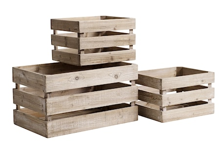 Nordal Wooden boxes opbevaring thumbnail