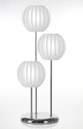 Bilde av Globen Lighting Bordlampe Plastbånd Trio Hvit