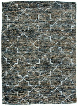 Safir matta Blå