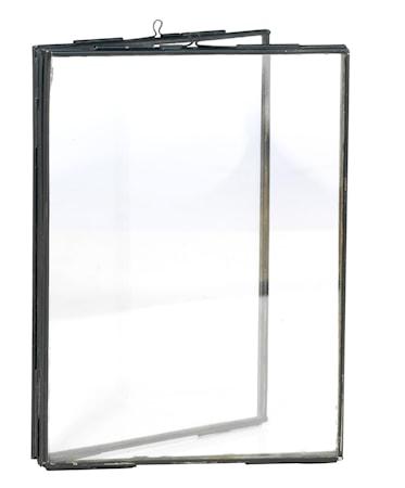 Madam Stoltz Tupla Valokuvakehys 13x18 cm - Musta