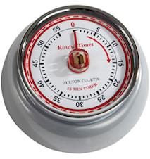 Timer Matt Silver 7,5 cm