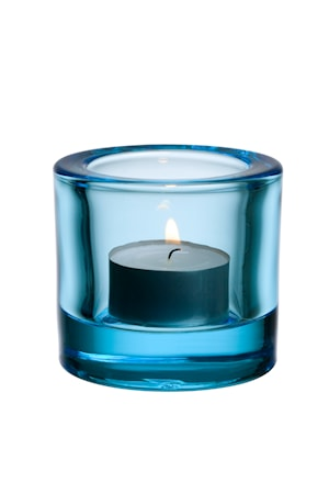 Iittala Kivi ljuslykta 60mm ljusblå /presentfrp