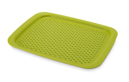 Nonslip Bricka Grip Tray Grön