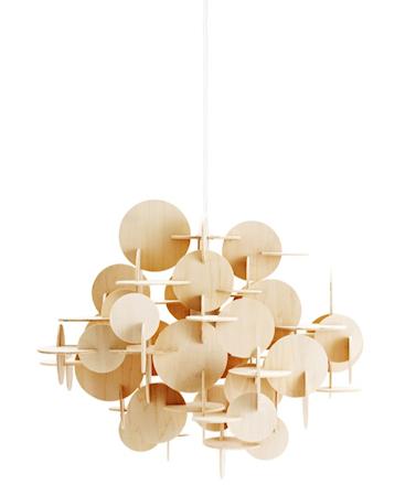 Normann Copenhagen Bau Lamppu Luonnollinen L