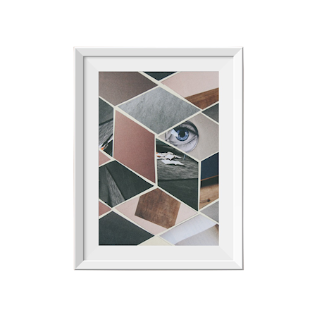 Bilde av Northern Story Eyes 1 Space poster – 30x40 cm