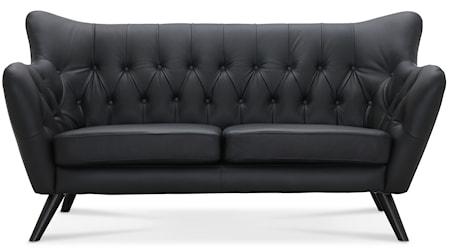Falsterbo Sydney 2,5-sits soffa - Konstläder
