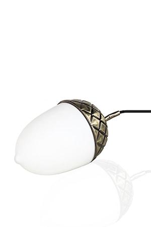 Bilde av Globen Lighting Bordlampe Acorn Oxid / Hvit