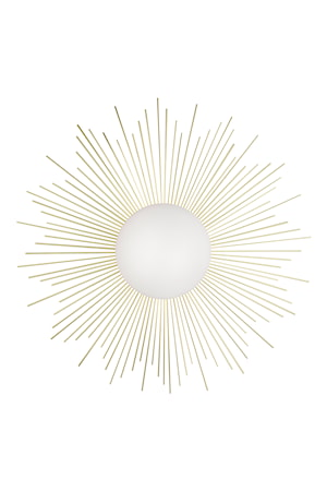 Vägglampa Soleil