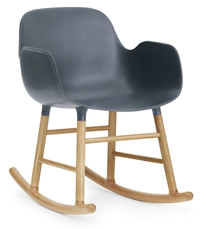 Form rocking chair karmstol ek
