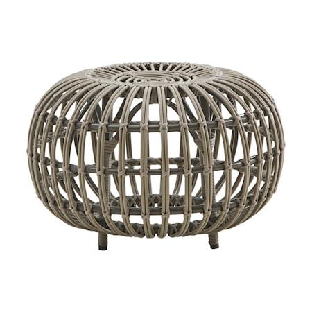 Sika Design Ottoman Ø 55 cm - Moccachino