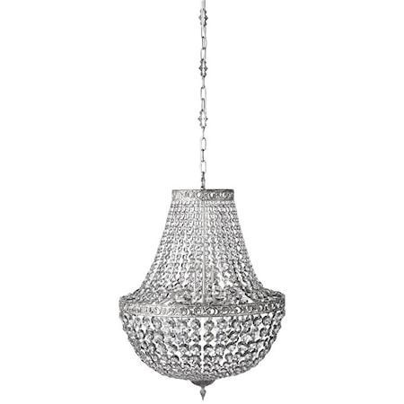 Divine Kristallkrona Shadow/Silver Ø55 cm.