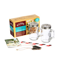 KILNER 2 PERSON DRINKING SET