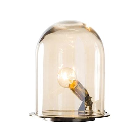Bilde av Ebb & Flow Glow in a dome small silver bordlampe
