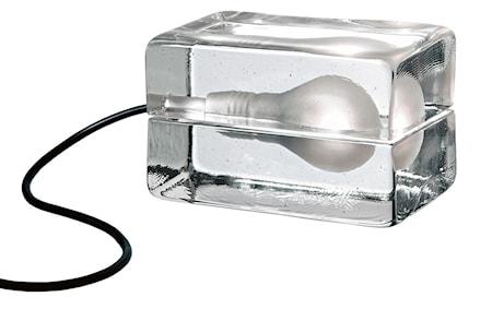 Bilde av Block Lampa med tekstilledning Svart